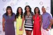 (L-R): Kym Whitley, Selita Ebanks, Kimberly Steward of The Kess Agency, Robi Reed, and Terrence J (photo credit: Arnold Turner / Reed For Hope Foundation)
